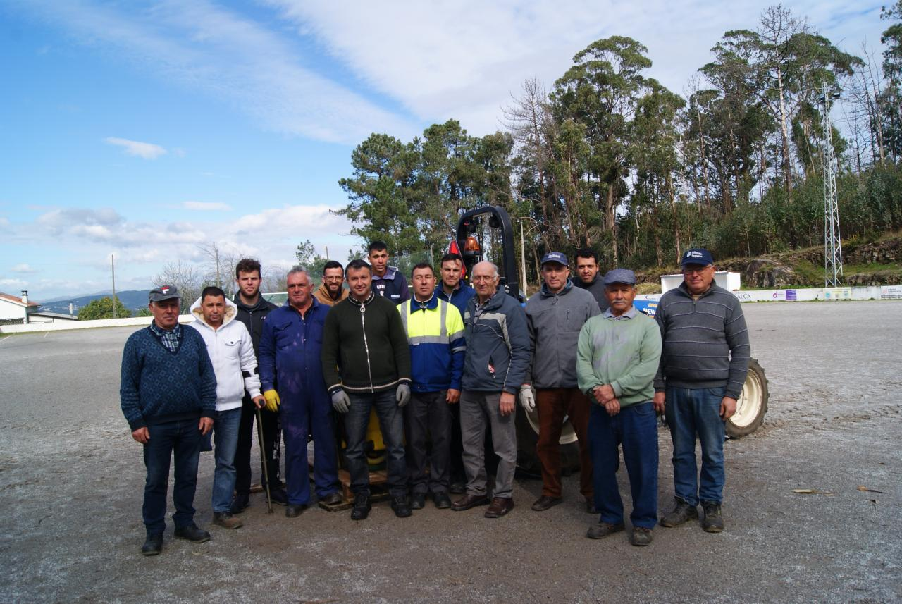 Junta de freguesia de Palme no apoio á formação