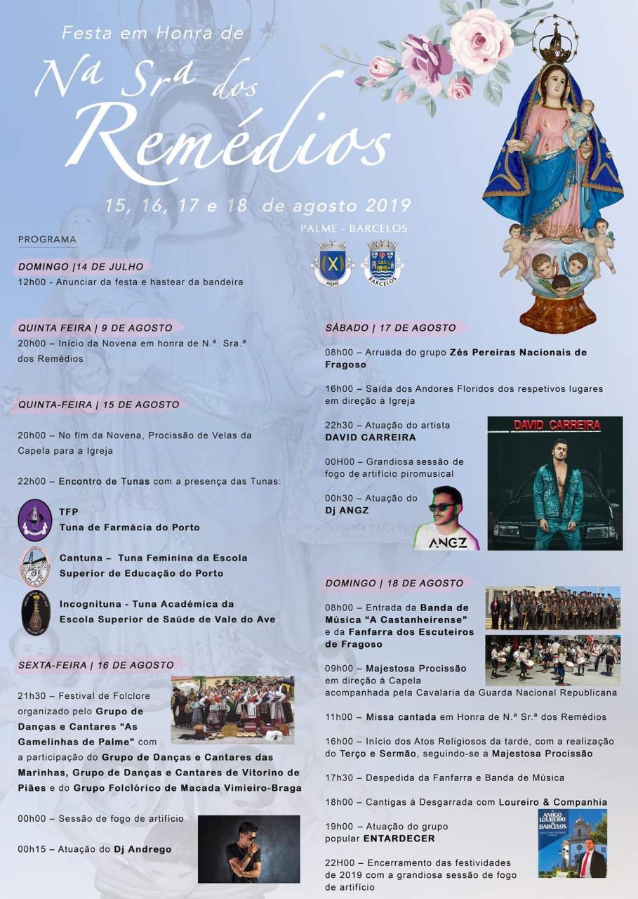 Festa de Nossa Senhora dos Remédios 2019
