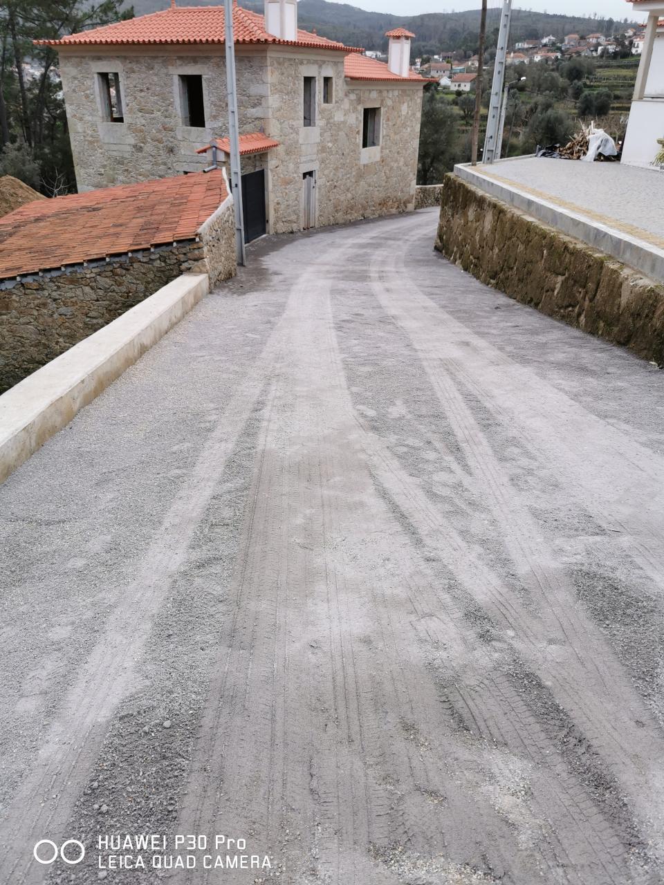 Junta de freguesia de Palme concluiu empreitada na rua da Agrela