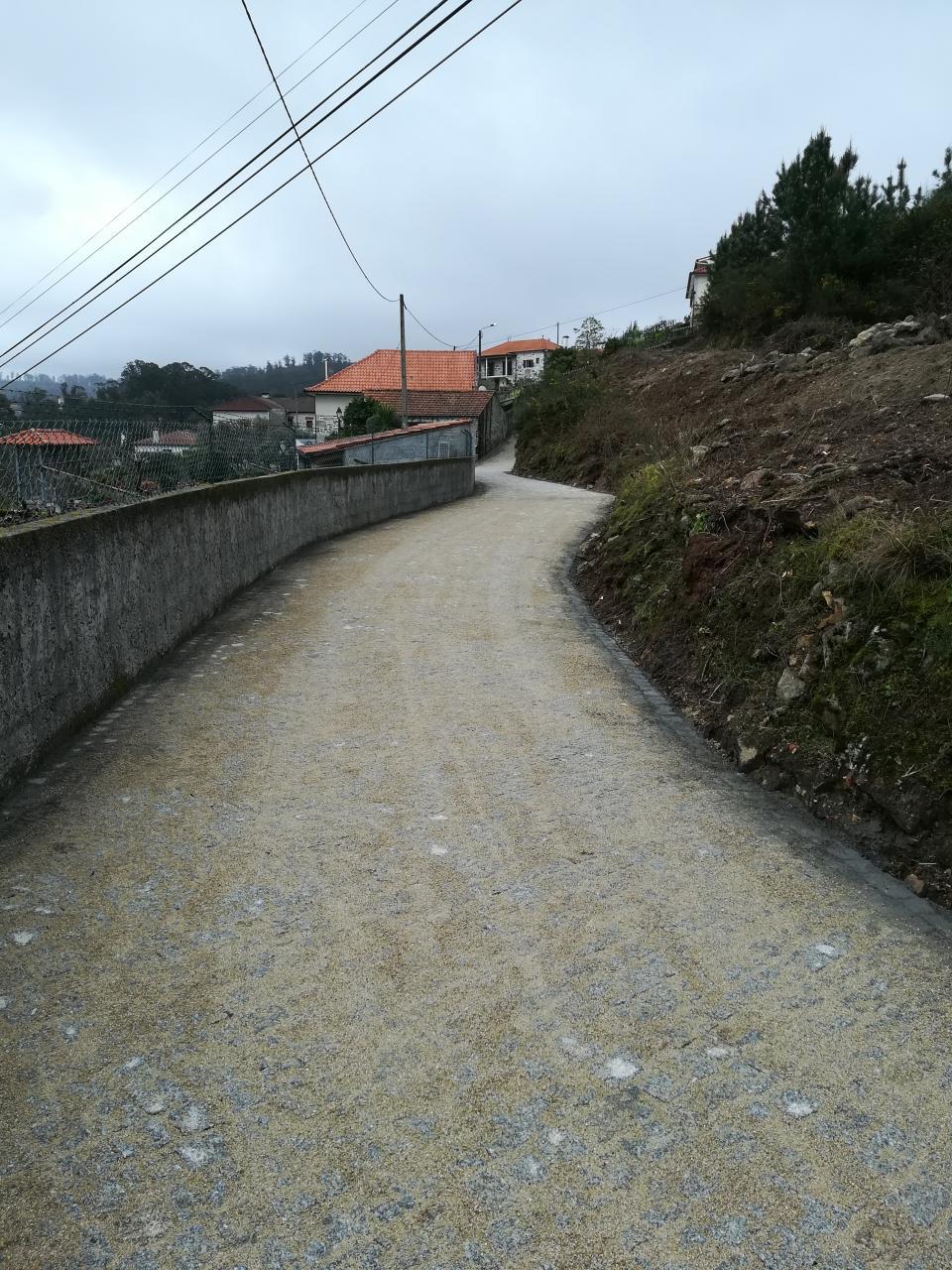 Pavimentação da travessa do Fontão